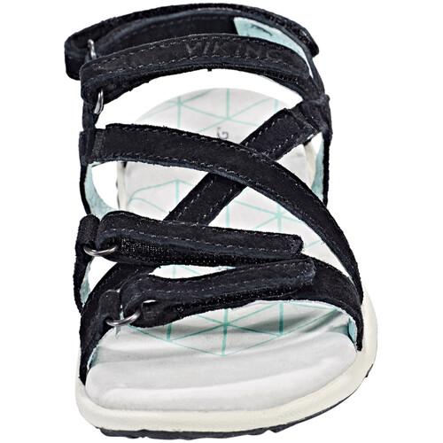 Viking Footwear Svala - Sandales Enfant - noir sur campz.fr !